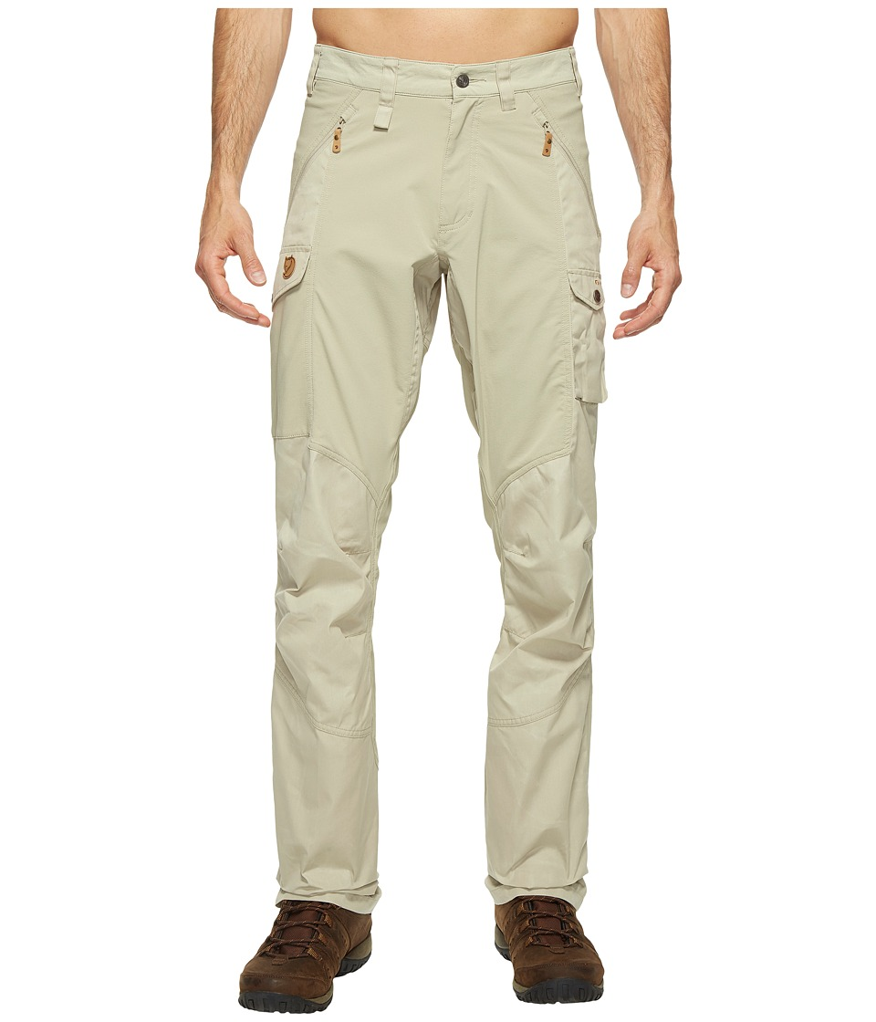 Fjallraven - Abisko Trousers (Limestone) Men's Casual Pants