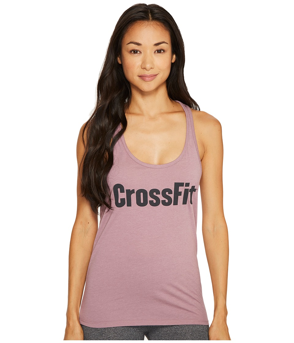 Reebok - CrossFit Forging Elite Fitness Tank (Smoky Orchid) Women's Workout