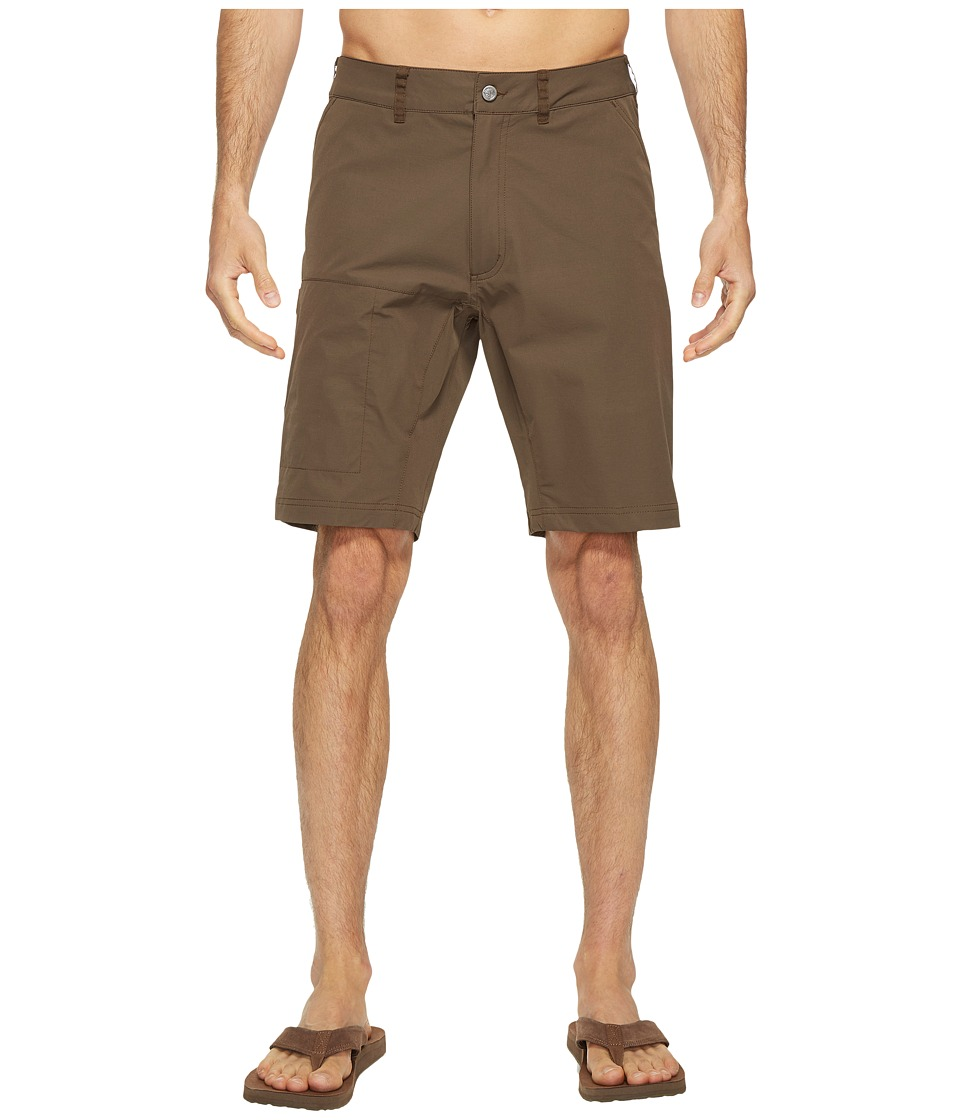 Fjallraven - Abisko Lite Shorts (Dark Olive) Men's Shorts