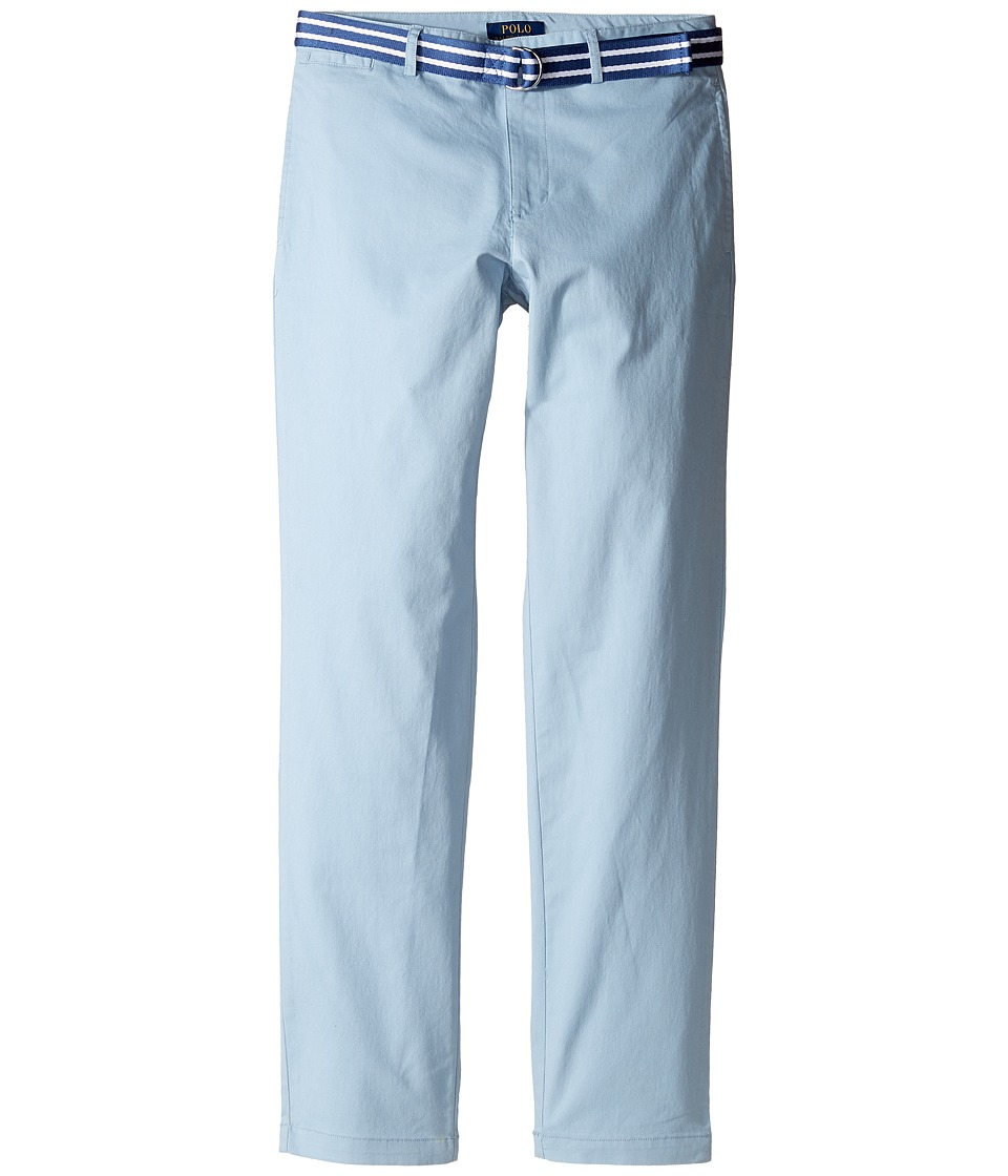 Polo Ralph Lauren Kids - Stretch Chino Suffield Pants (Big Kids) (Hampton Blue) Boy's Casual Pants