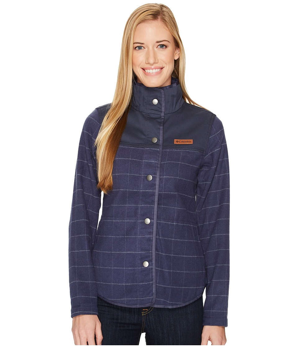 Columbia Alpine Jacket (Nocturnal Grid/Nocturnal) Women