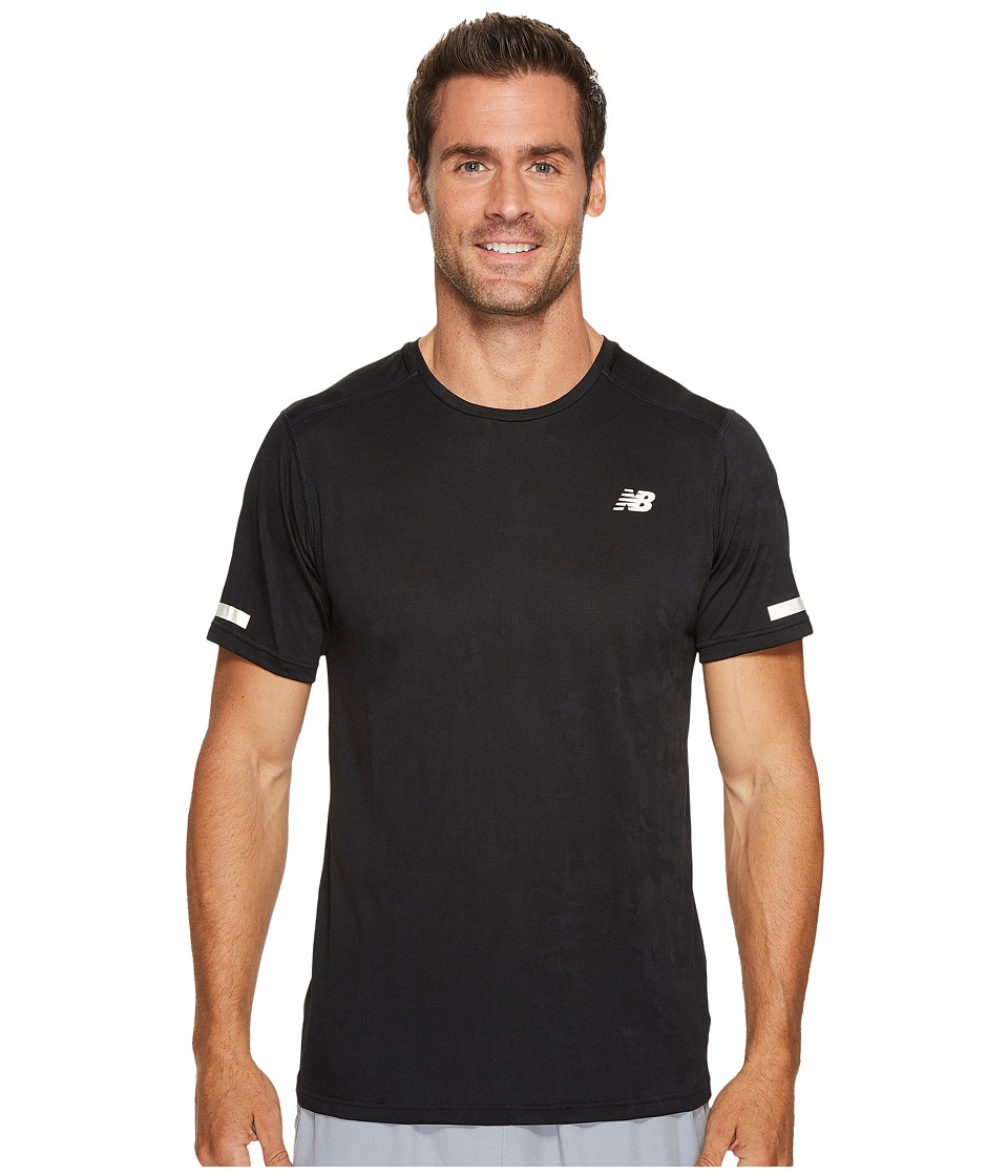 New Balance - Max Intensity Short Sleeve (Black) Men's T Shirt