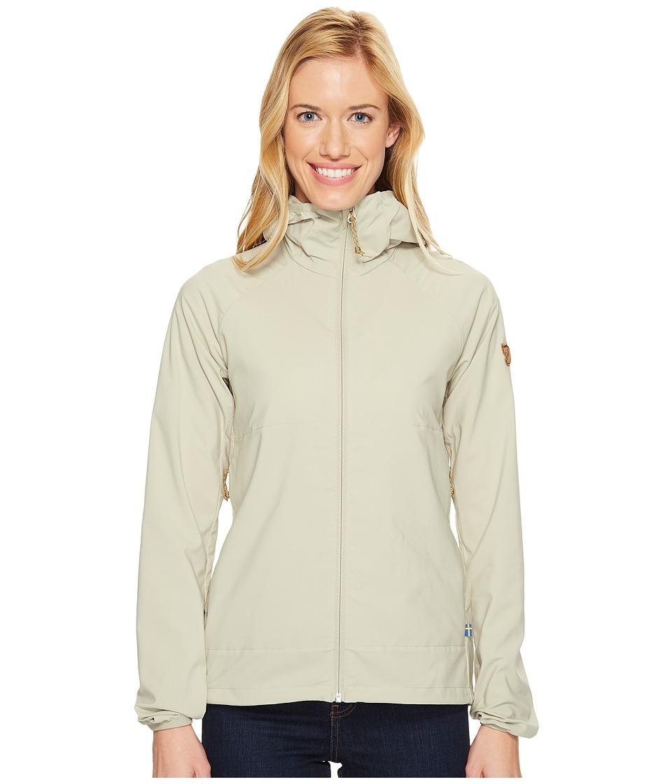 Fjallraven - Abisko Hybrid Breeze Jacket (Limestone) Women's Coat