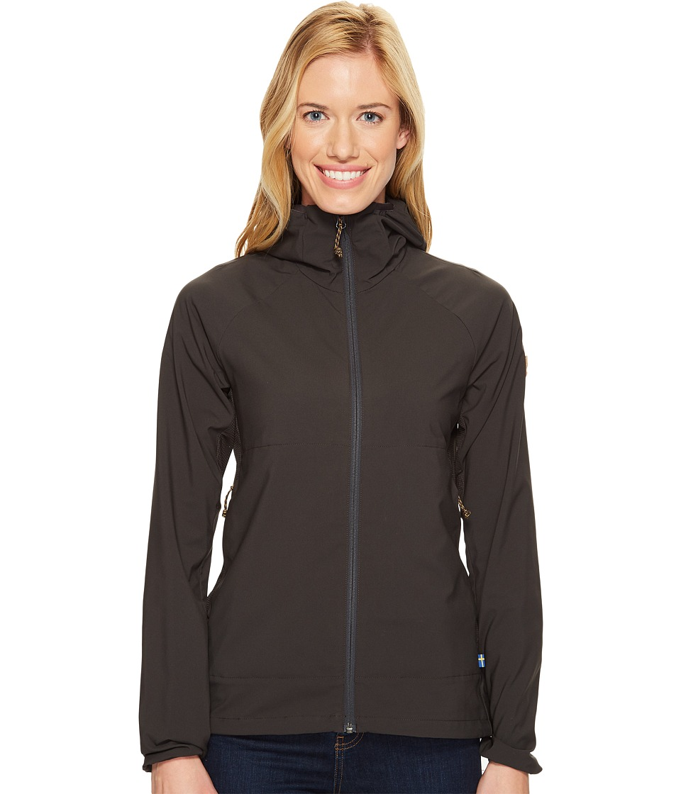 Fjallraven - Abisko Hybrid Breeze Jacket (Dark Grey) Women's Coat