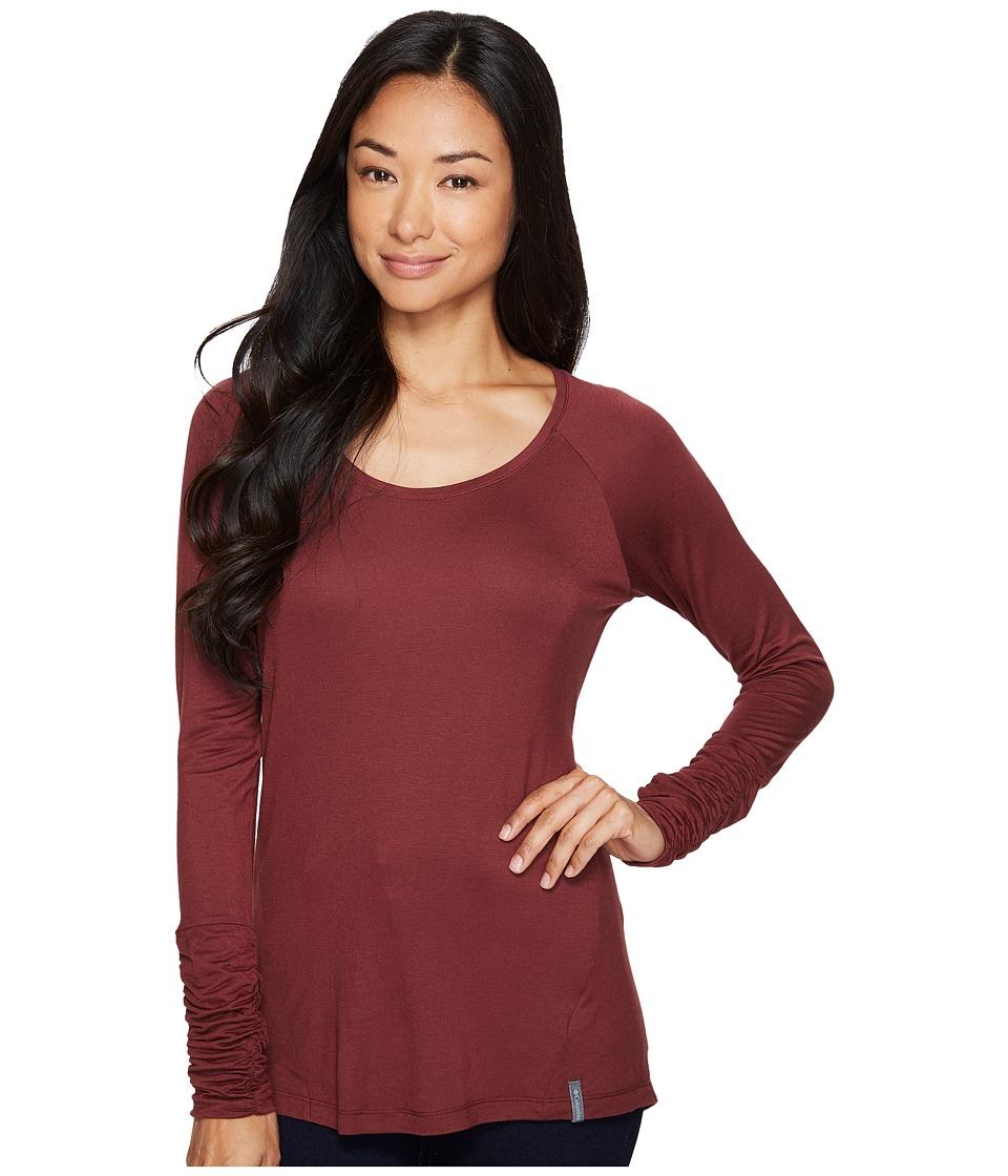 Columbia Lumianation II Long Sleeve Shirt (Bloodstone) Women