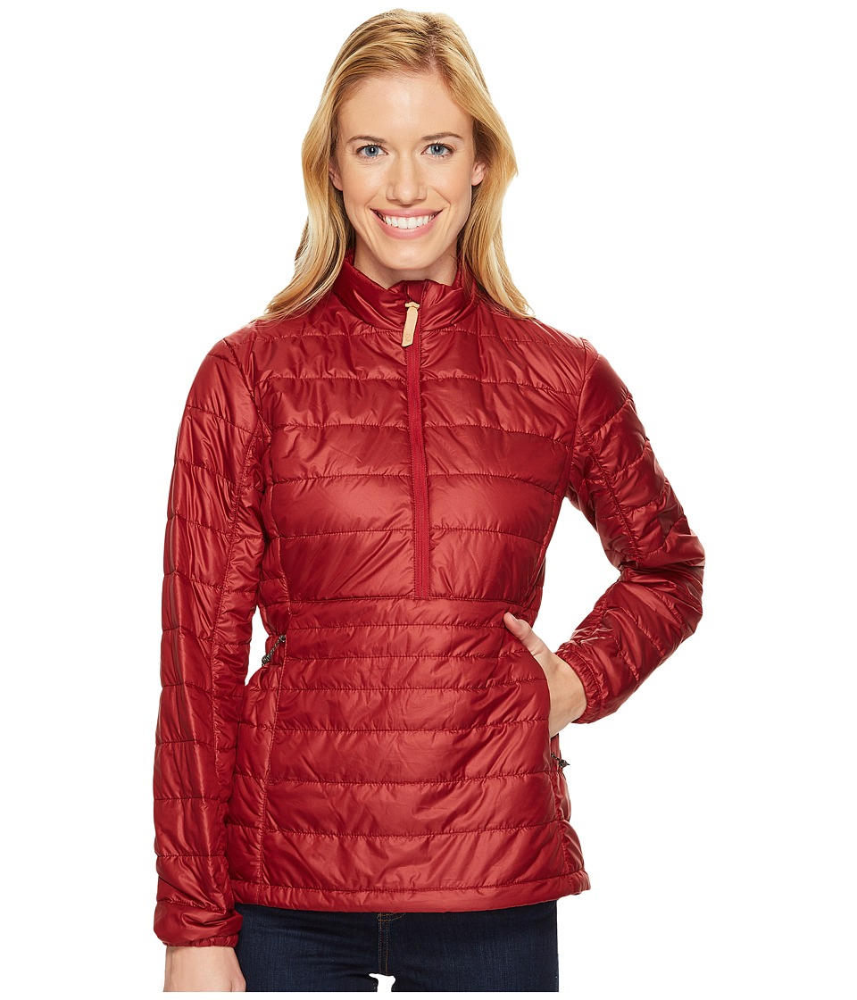 Fjallraven Abisko Padded Pullover (Ox Red) Women