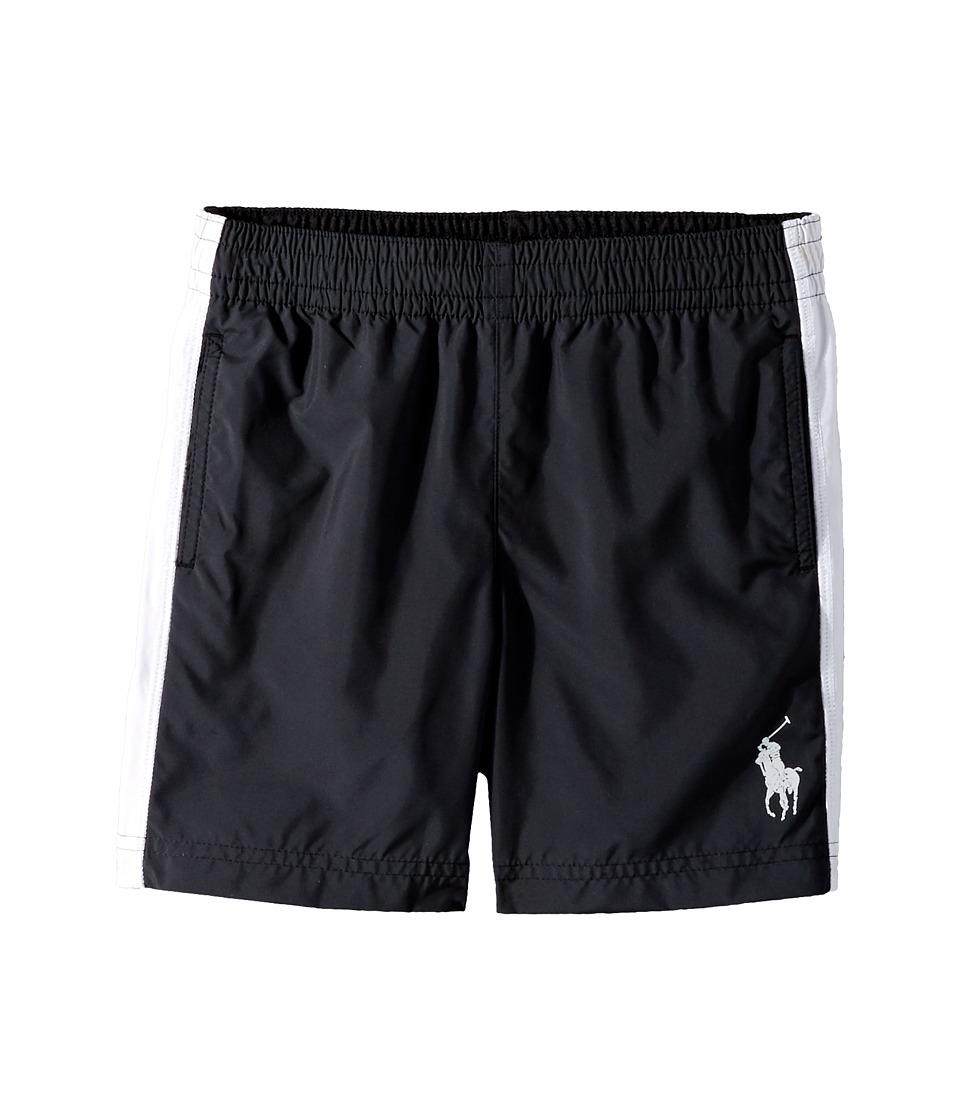 Polo Ralph Lauren Kids - Poly Pieced Shorts (Little Kids) (Polo Black) Boy's Shorts