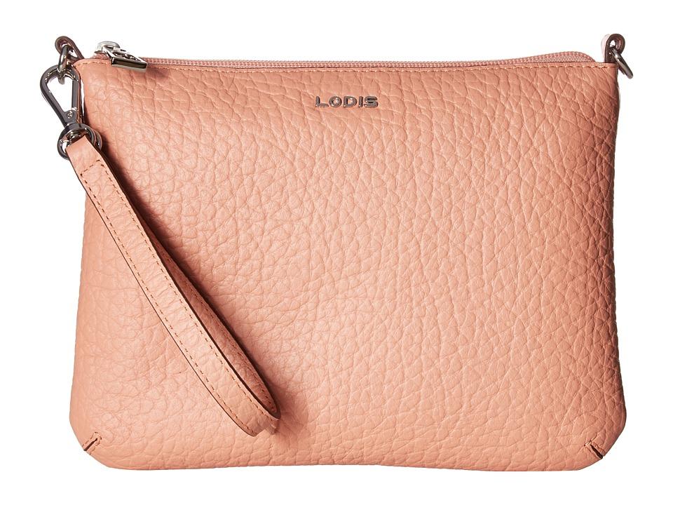 Lodis Accessories - Borrego Emily Clutch Crossbody (Blush) Cross Body Handbags
