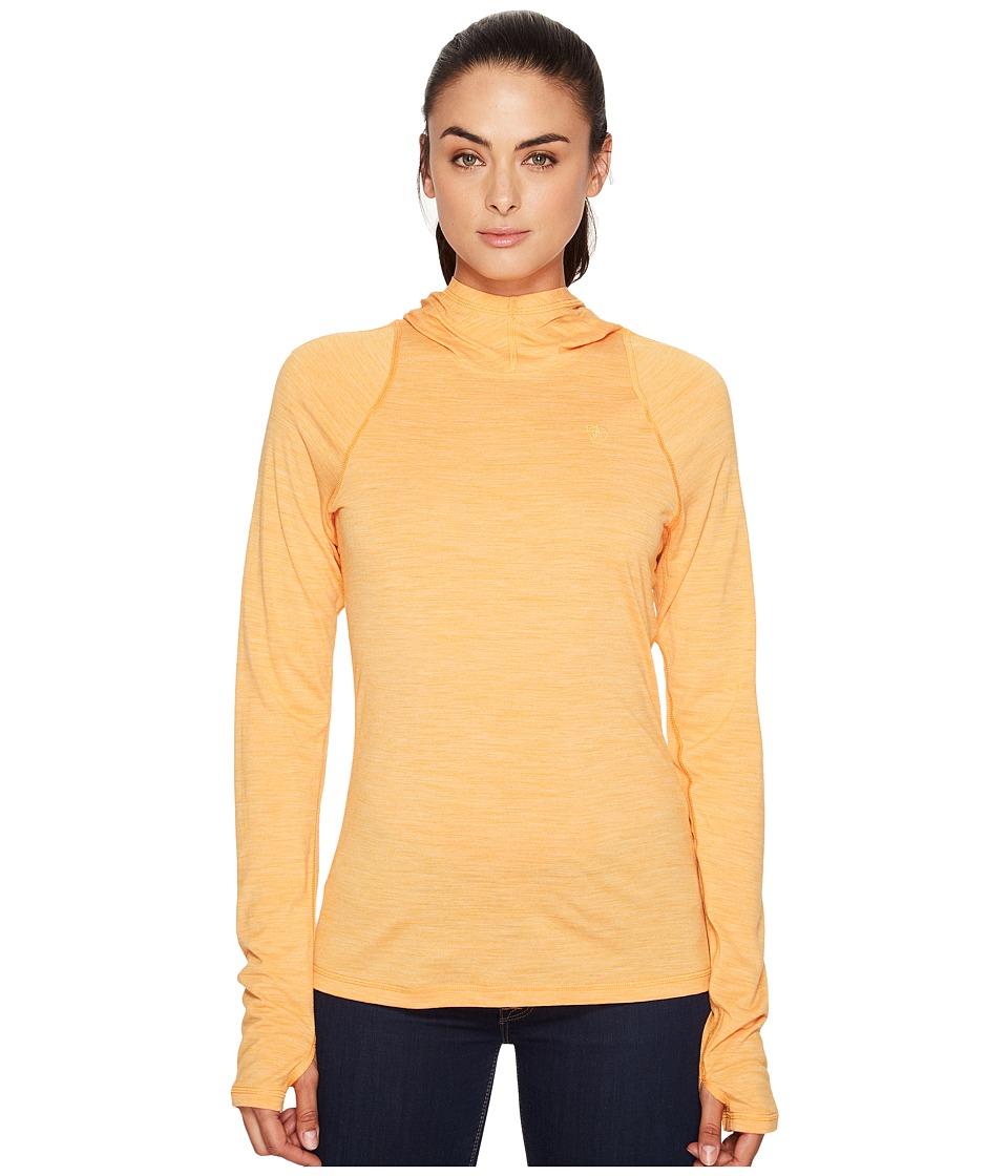 Fjallraven - High Coast Lite Hoodie (Seashell Orange) Women's Sweatshirt