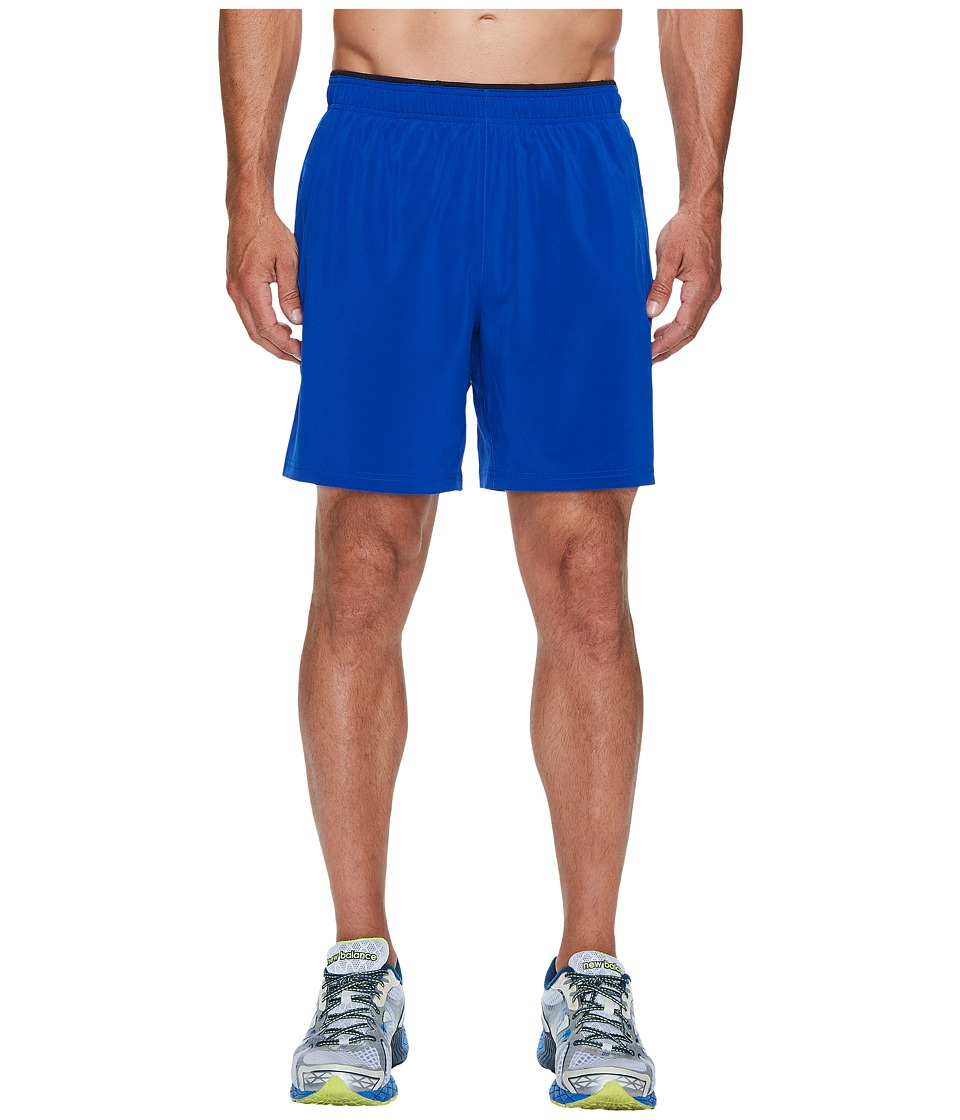 New Balance - Woven 2-in-1 Shorts (Team Royal/Black) Men's Shorts
