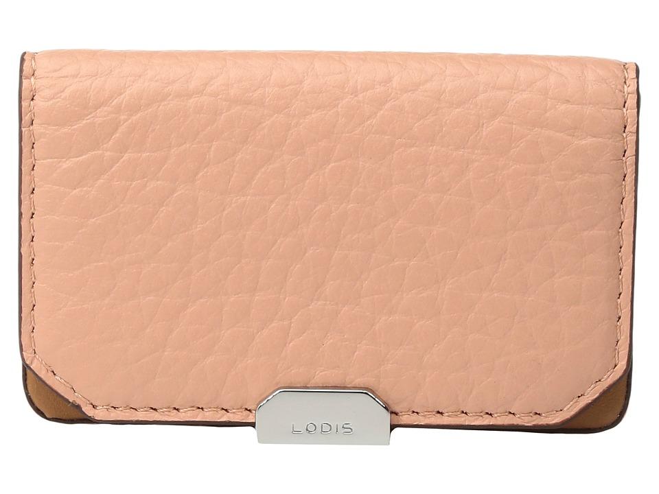 Lodis Accessories - Borrego Mini Card Case (Blush) Credit card Wallet
