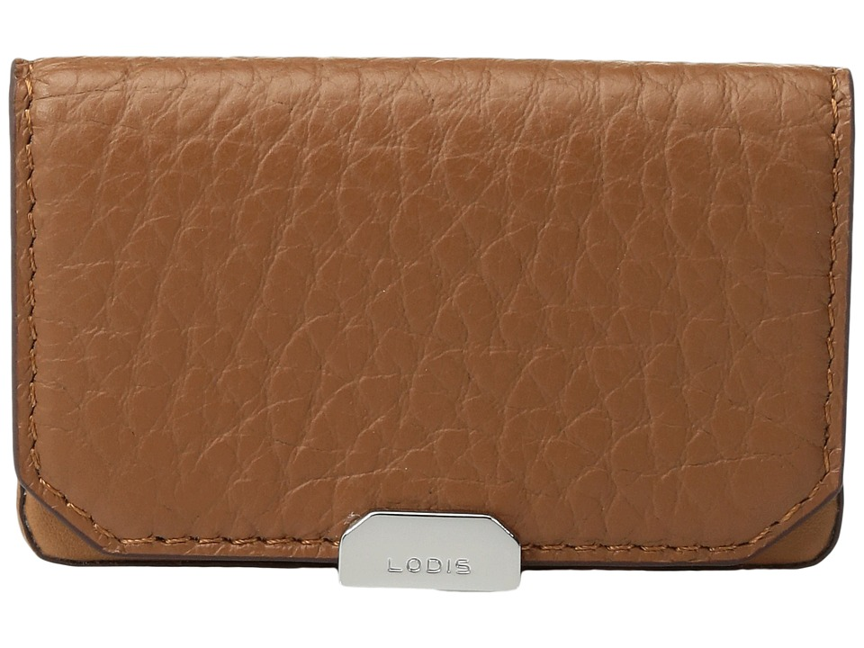 Lodis Accessories - Borrego Mini Card Case (Toffee) Credit card Wallet