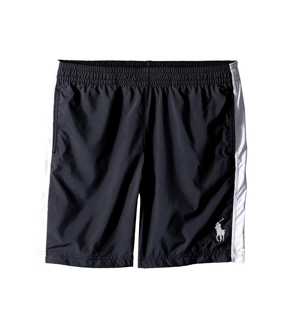 Polo Ralph Lauren Kids - Poly Pieced Shorts (Big Kids) (Polo Black) Boy's Shorts