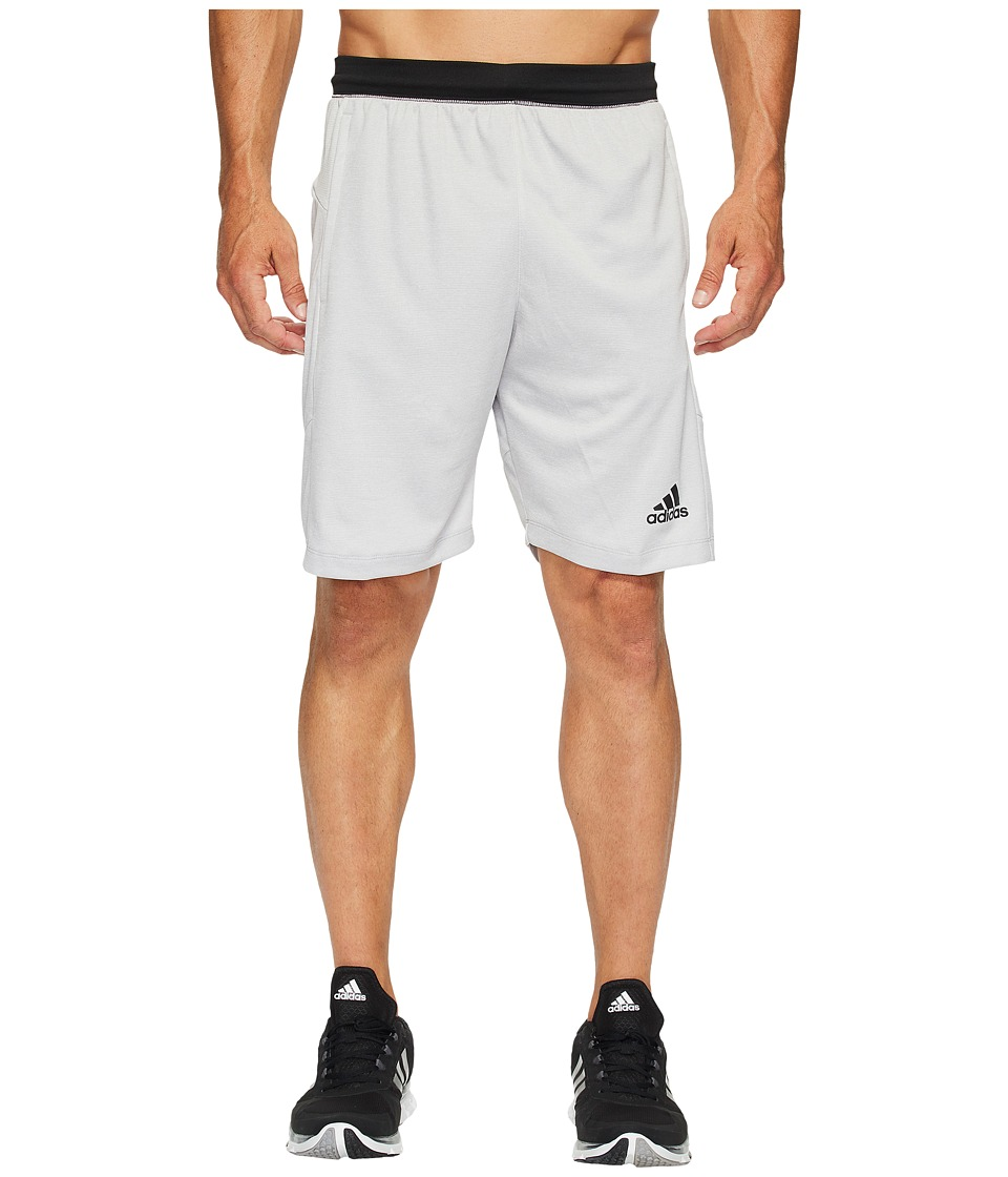 adidas SpeedBreaker Hype Shorts (Medium Grey Heather/Black) Men
