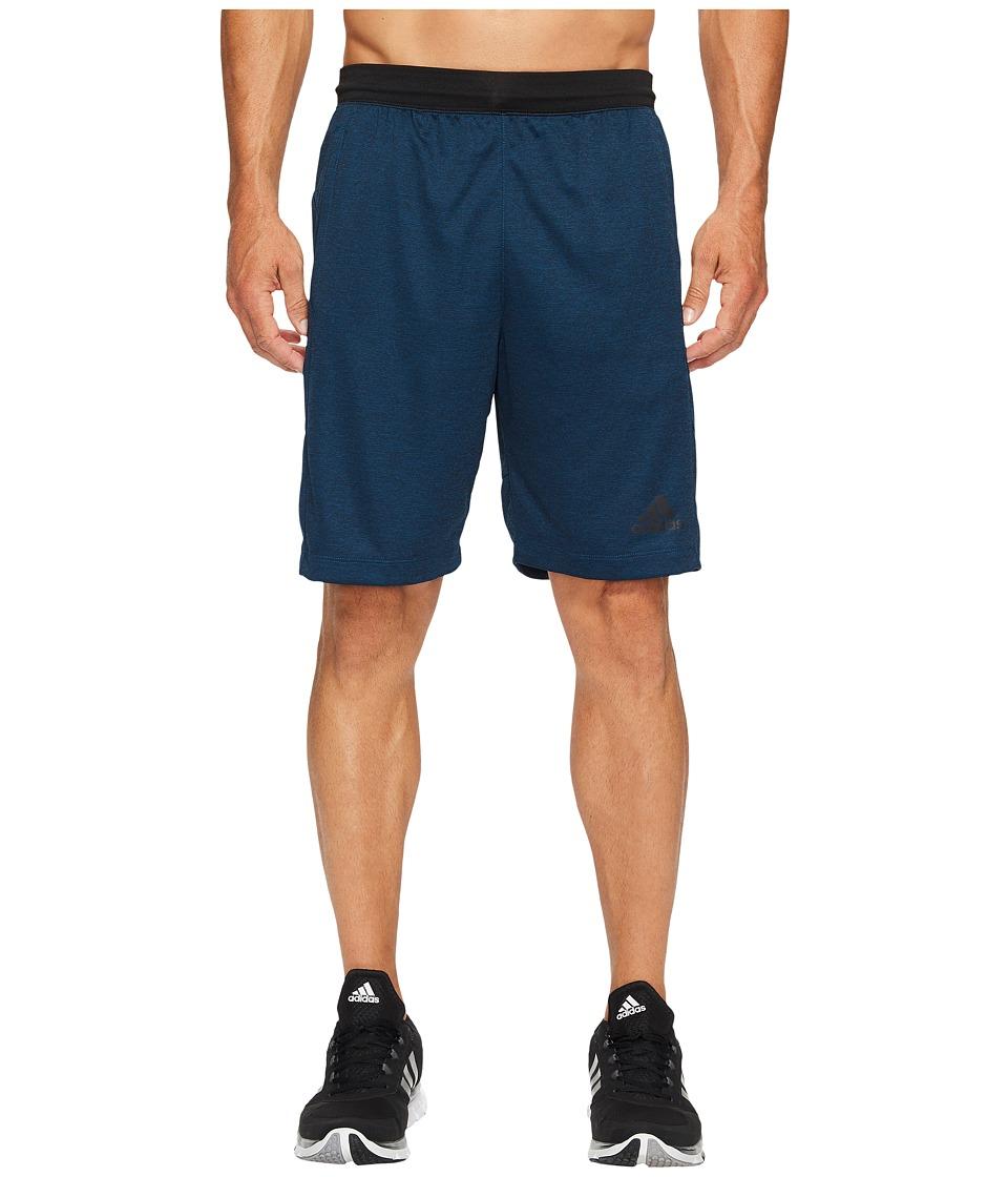 adidas - SpeedBreaker Hype Shorts (Blue Night/Black) Men's Shorts