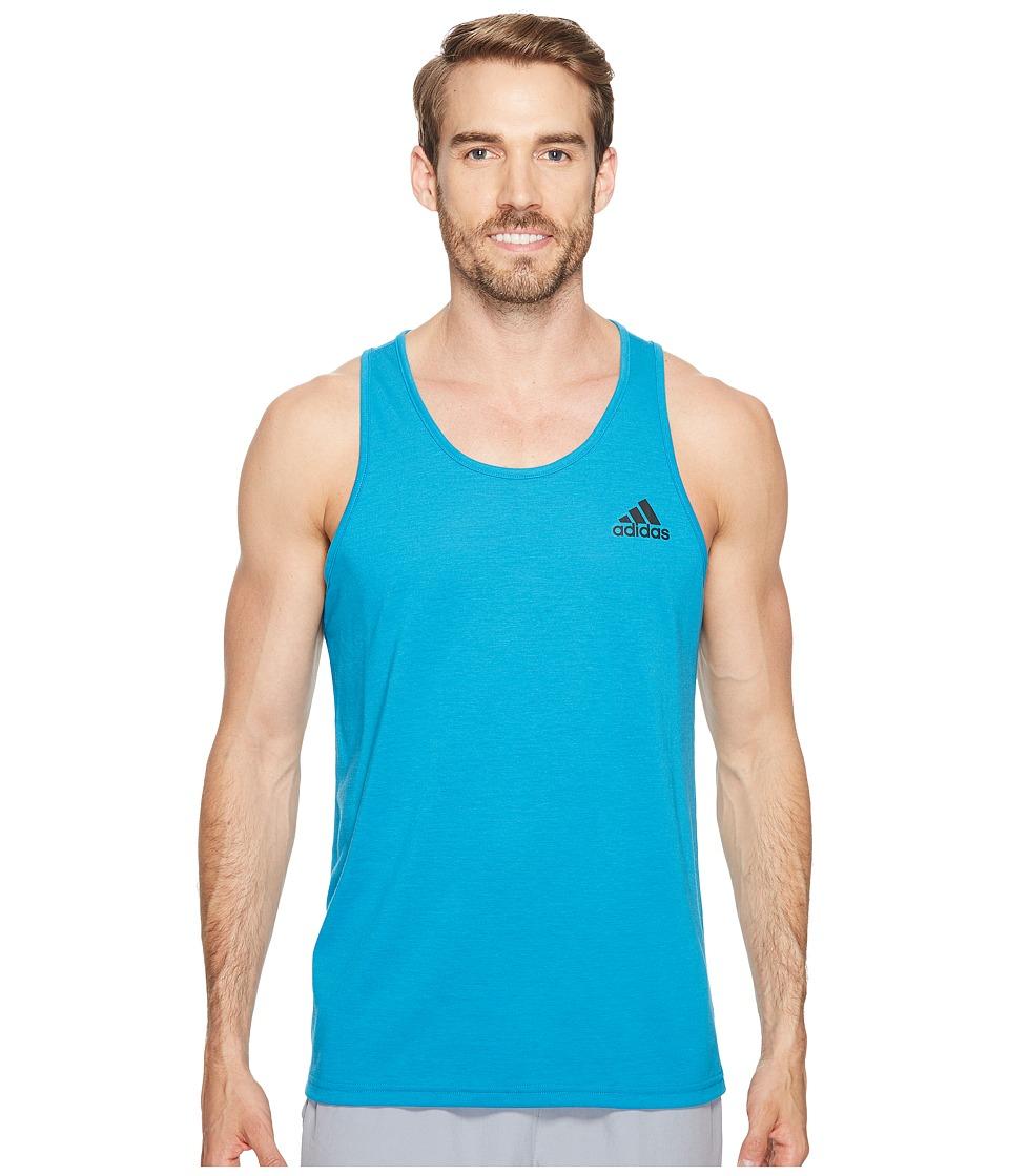 adidas - Ultimate Tank Top (Collegiate Royal) Men's Sleeveless