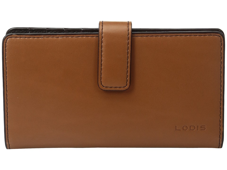 Lodis Accessories - Audrey Card Case w/ Coin Purse (Toffee) Coin Purse