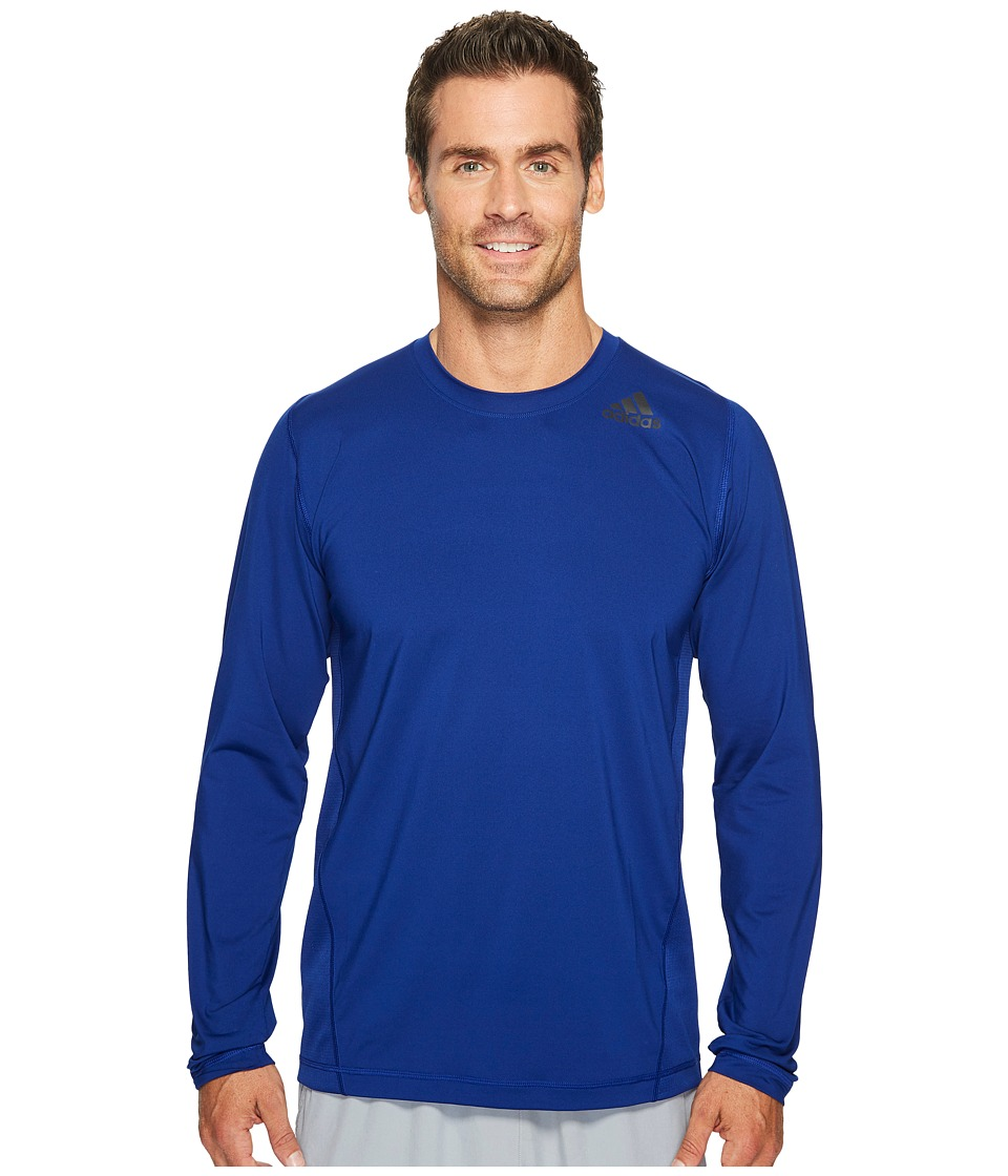 adidas Utility Tech Long Sleeve Top (Mystery Ink) Men