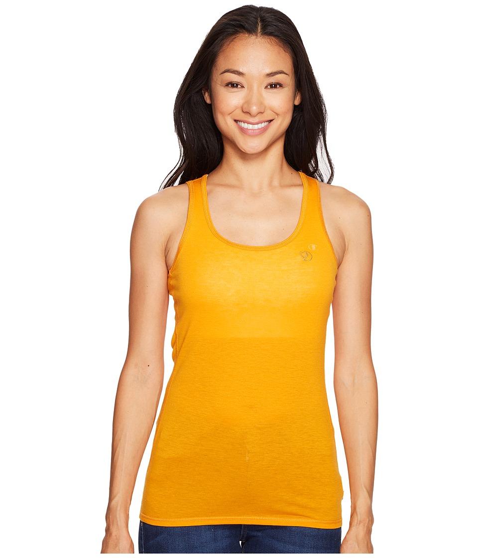 Fjallraven - High Coast Tank Top (Seashell Orange) Women's Sleeveless