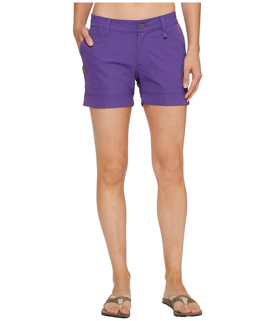 Fjallraven - Abisko Stretch Shorts (Purple) Women's Shorts