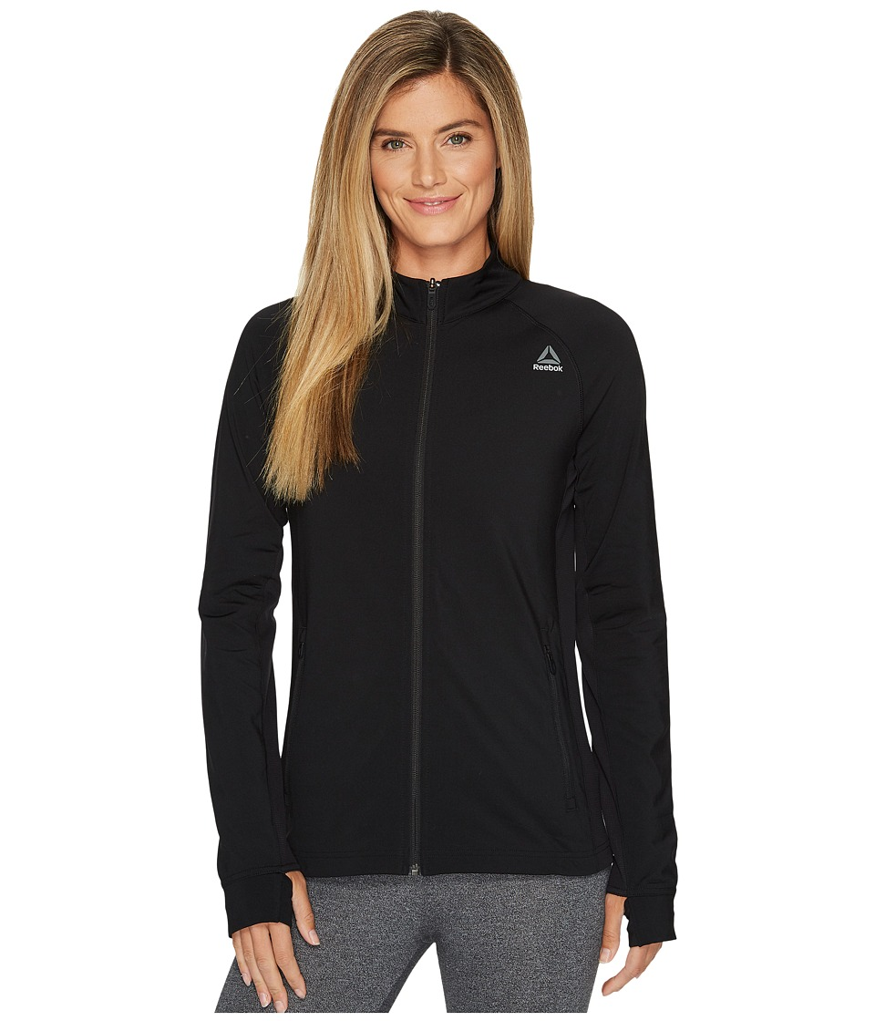 Reebok - Speedwick Track Jacket (Black 2) Women's Coat