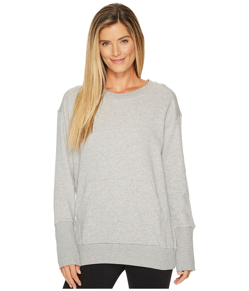 Reebok - Oversized Long Sleeve Tunic (Black) Women's Long Sleeve Pullover