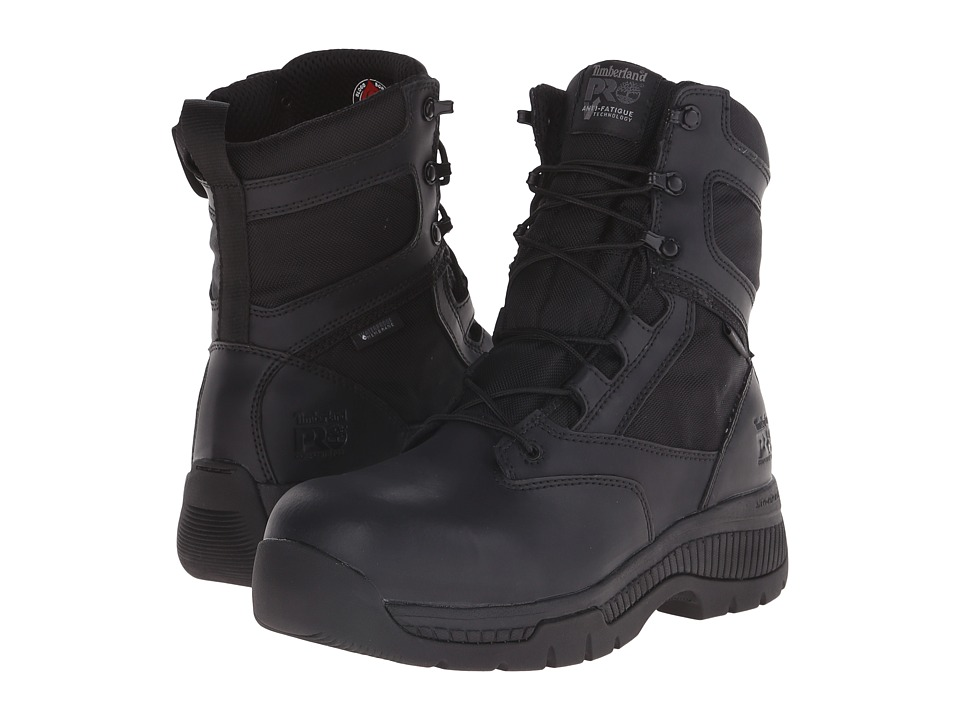 Timberland 8 Valor Duty Composite Toe Waterproof FP (Black) Men