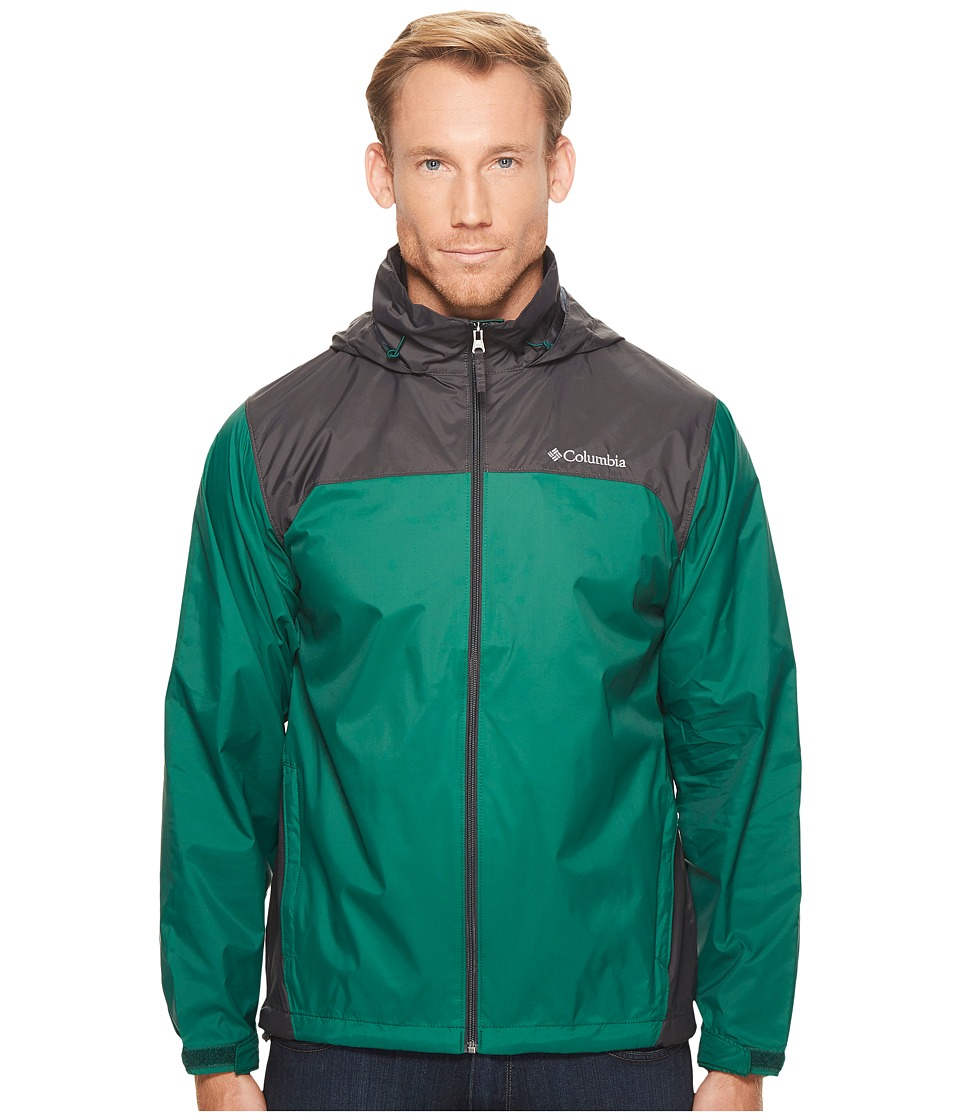 Columbia Glennaker Laketm Rain Jacket (Wildwood Green/Shark) Men