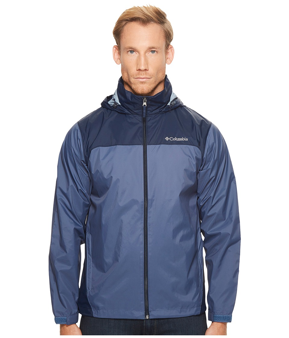 Columbia Glennaker Laketm Rain Jacket (Dark Mountain/Collegiate Navy) Men
