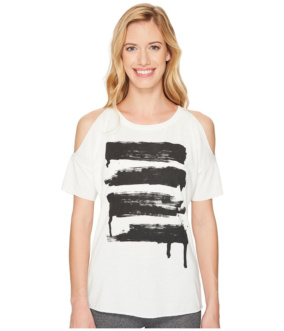 Reebok - Dry Dye Tee (Chalk) Women's Short Sleeve Pullover