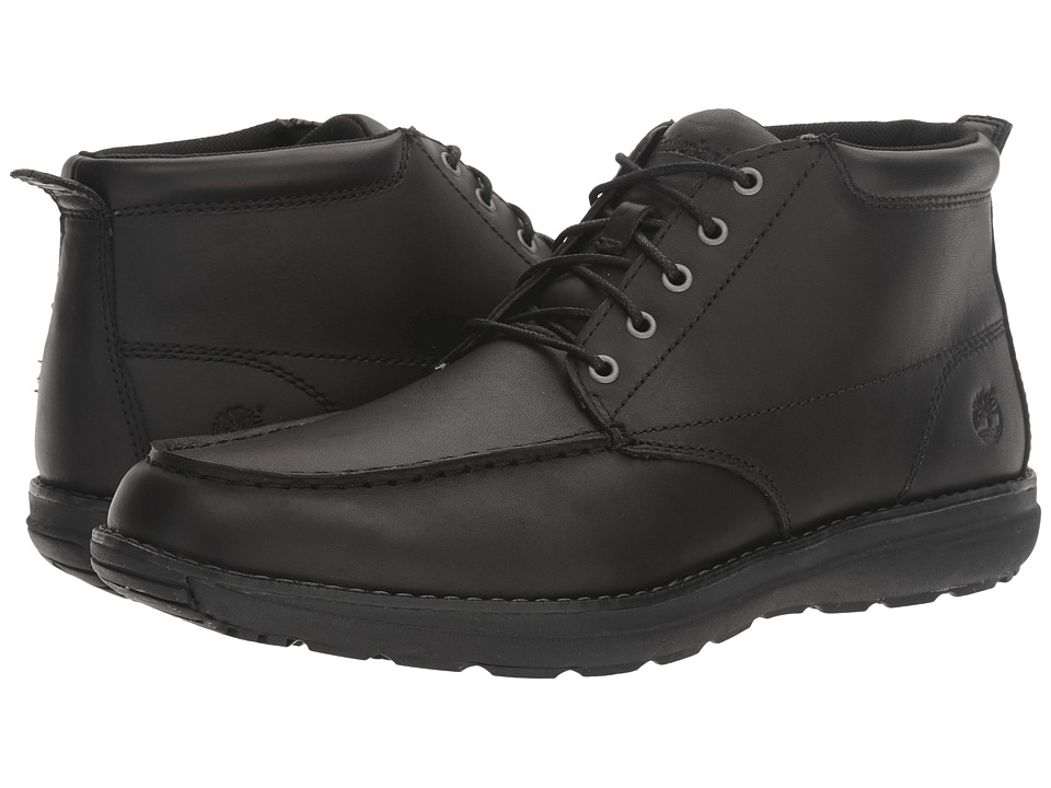 Timberland - Barrett Park Moc Toe Chukka (Black) Men's Boots