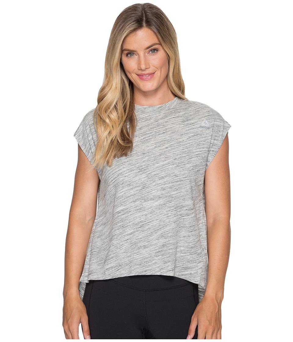 Reebok - El Marble Tee (Chalk) Women's T Shirt