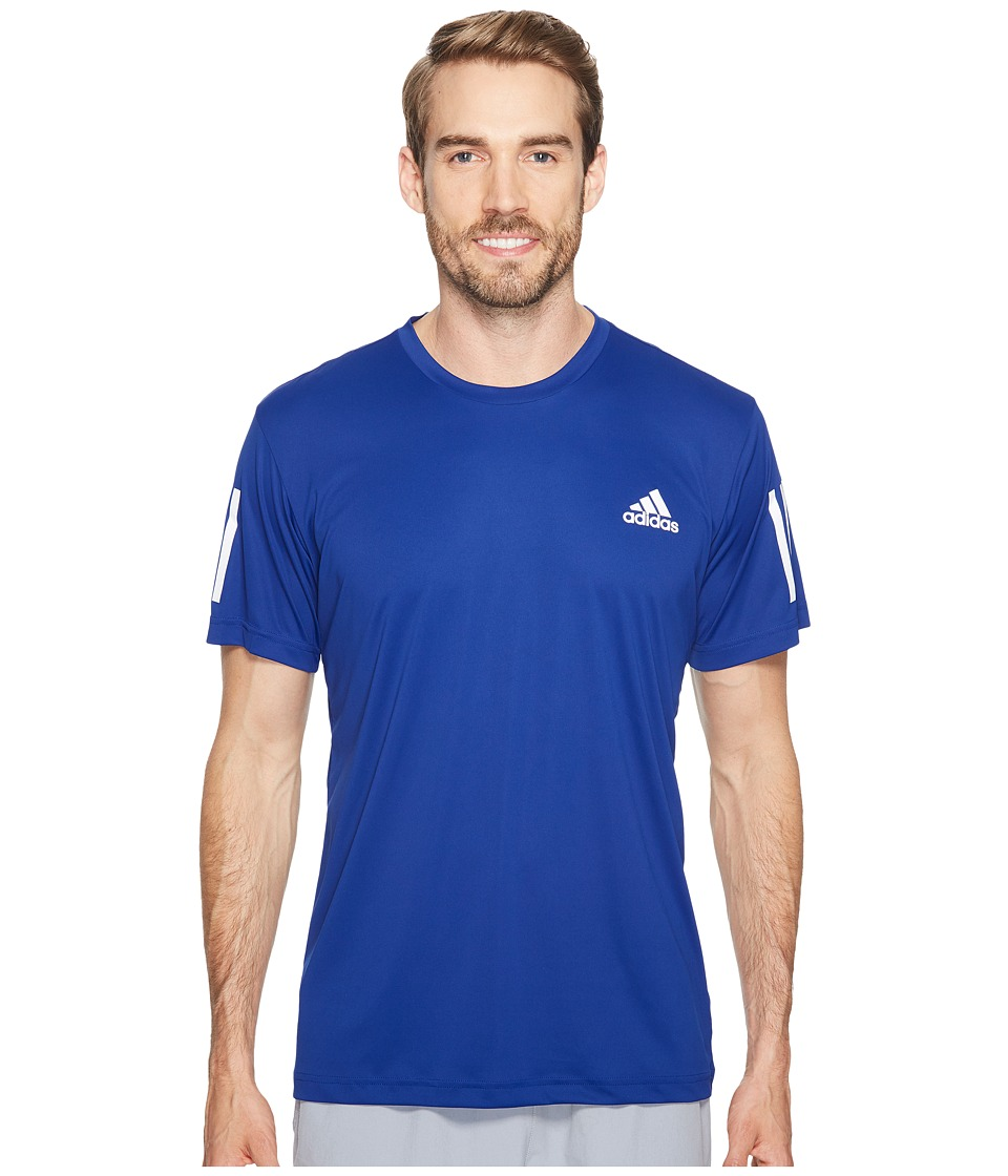 adidas - Club Tee (Mystery Ink/White/Energy Ink) Men's T Shirt