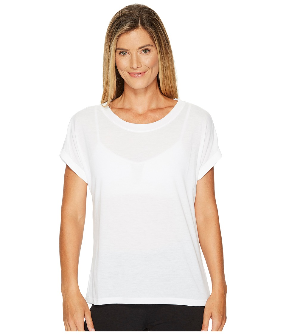 Reebok - Supremium Tee (White) Women's Workout