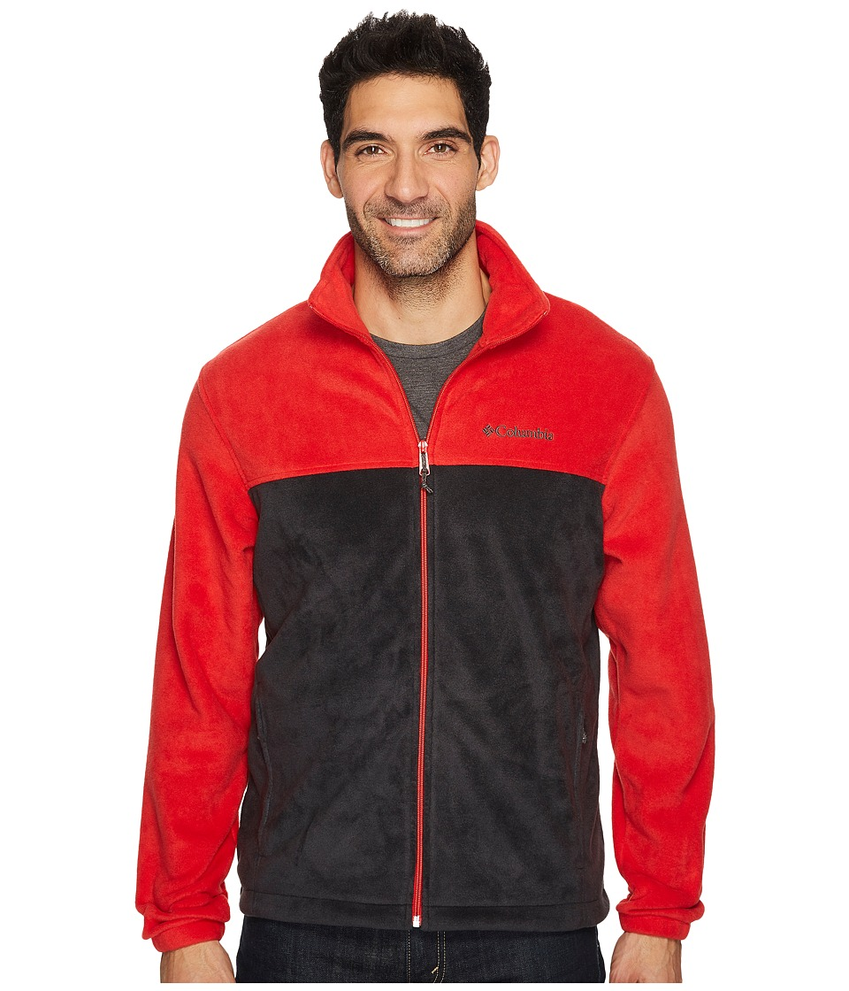 Columbia - Steens Mountain Full Zip 2.0 (Red Spark/Black) Men's Coat