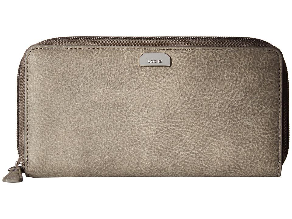 Lodis Accessories - Gijon Ada Zip Wallet (Black) Wallet Handbags