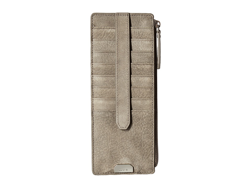 Lodis Accessories - Gijon Credit Card Case w/ ZIpper Pocket (Black) Credit card Wallet