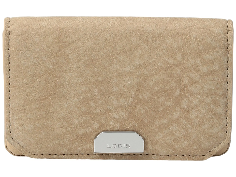 Lodis Accessories - Gijon Mini Card Case (Desert) Credit card Wallet