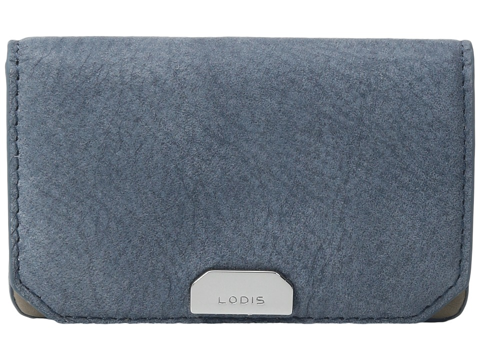 Lodis Accessories - Gijon Mini Card Case (Navy) Credit card Wallet