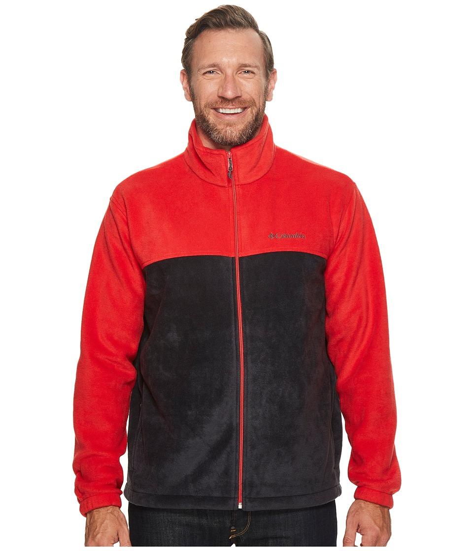 Columbia - Big Tall Steens Mountaintm Full Zip 2.0 Jacket (Red Spark/Black) Men's Coat