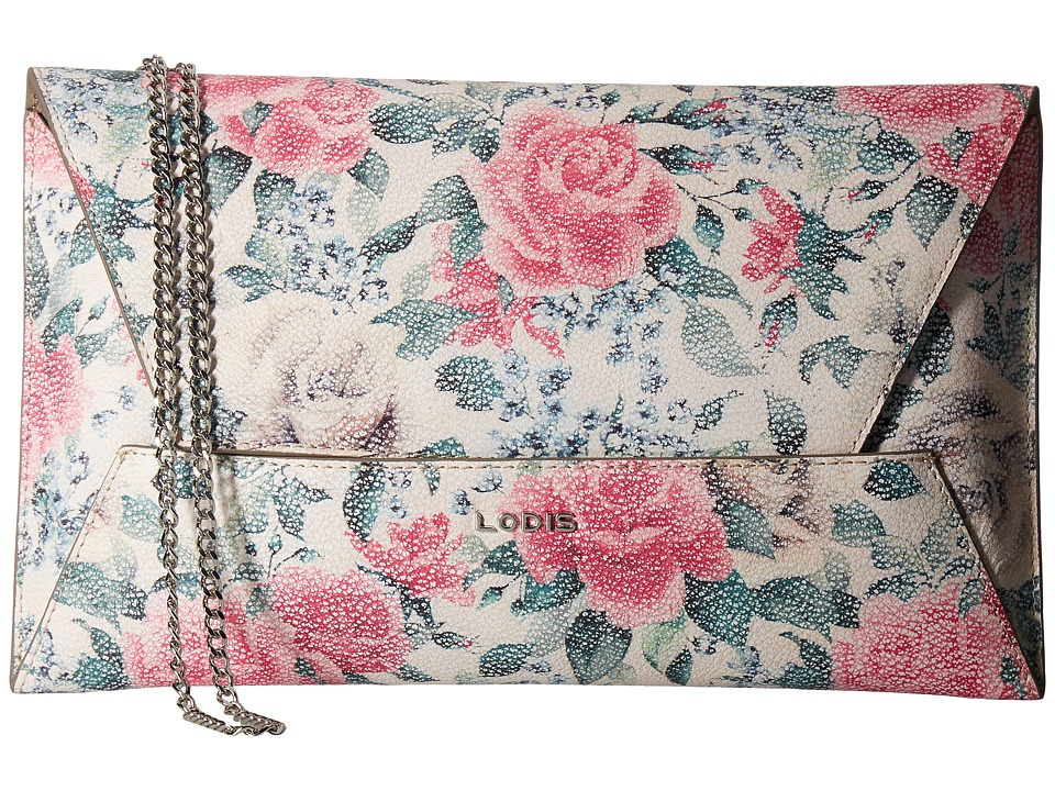 Lodis Accessories - Bouquet Betsy Clutch Crossbody (Multi) Cross Body Handbags