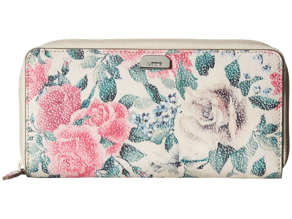 Lodis Accessories - Bouquet Ada Zip Wallet (Multi) Wallet Handbags