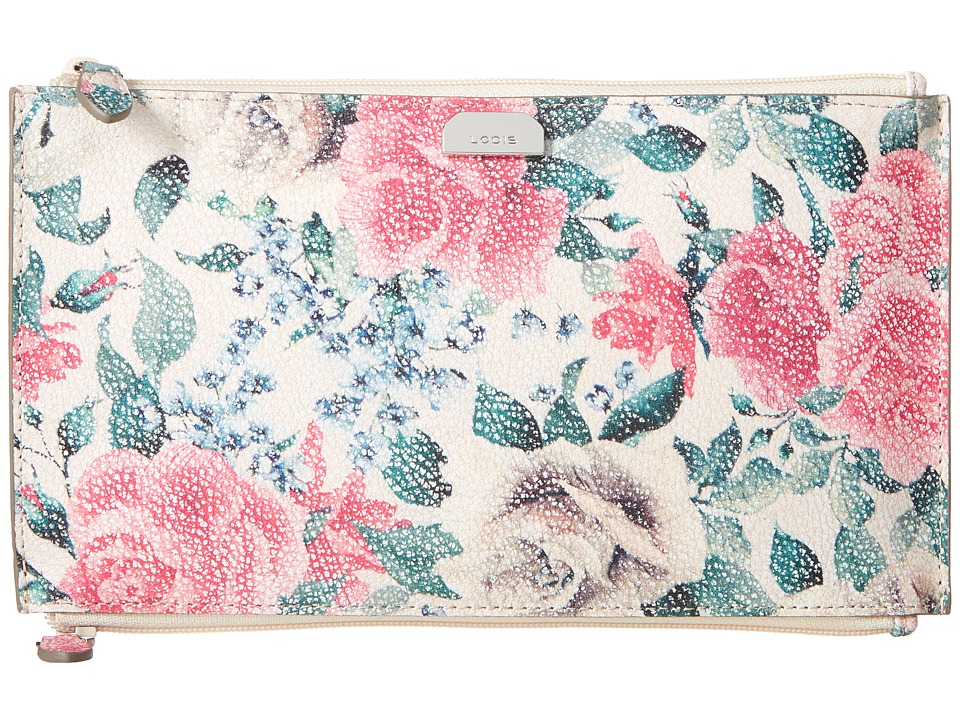Lodis Accessories - Bouquet Lani Double Zip Pouch (Multi) Handbags