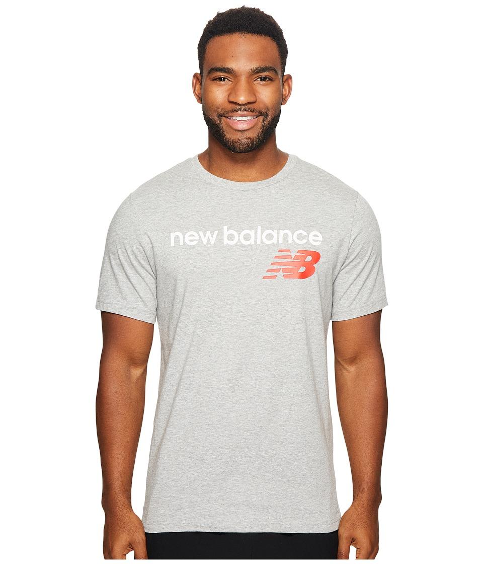 New Balance NB Athletics Main Logo Tee (Athletic Grey) Men