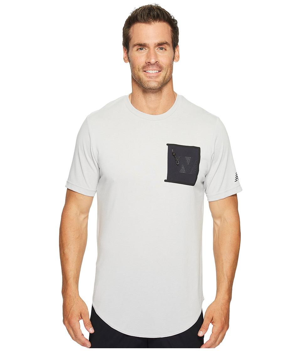 New Balance - 247 Sport Pocket Tee (White) Men's T Shirt