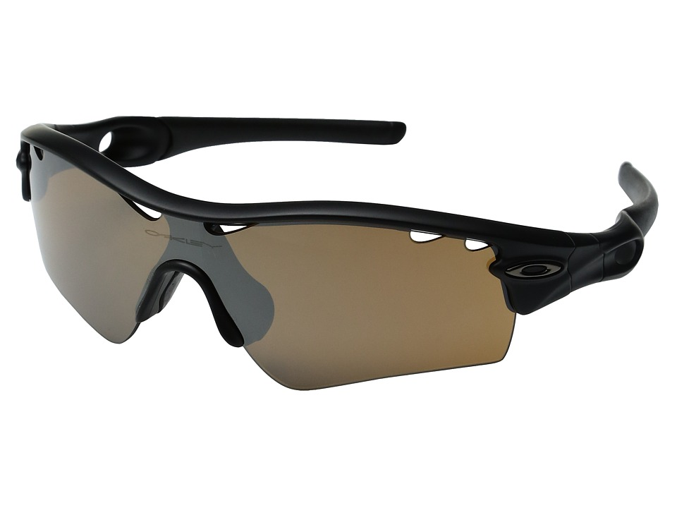 Oakley - MPH (A) Radar Path (Vented Matte Black/Tungsten Iridium) Sport Sunglasses