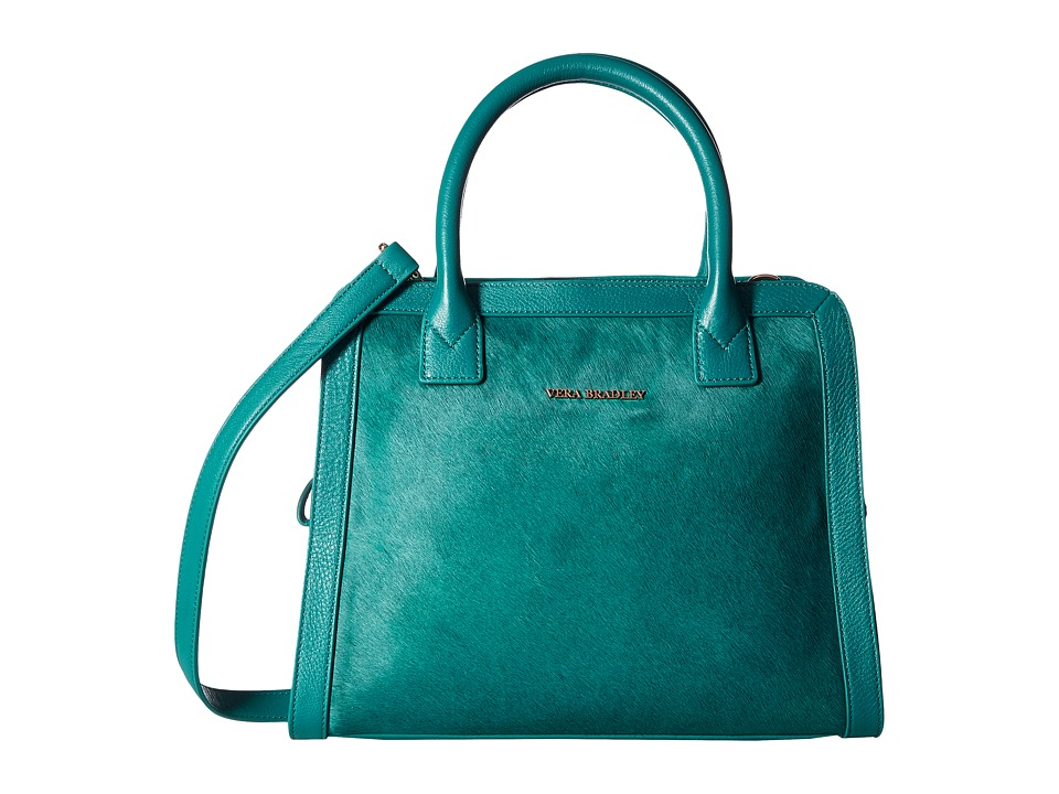 Vera Bradley - Natalie Satchel (Dark Teal) Satchel Handbags