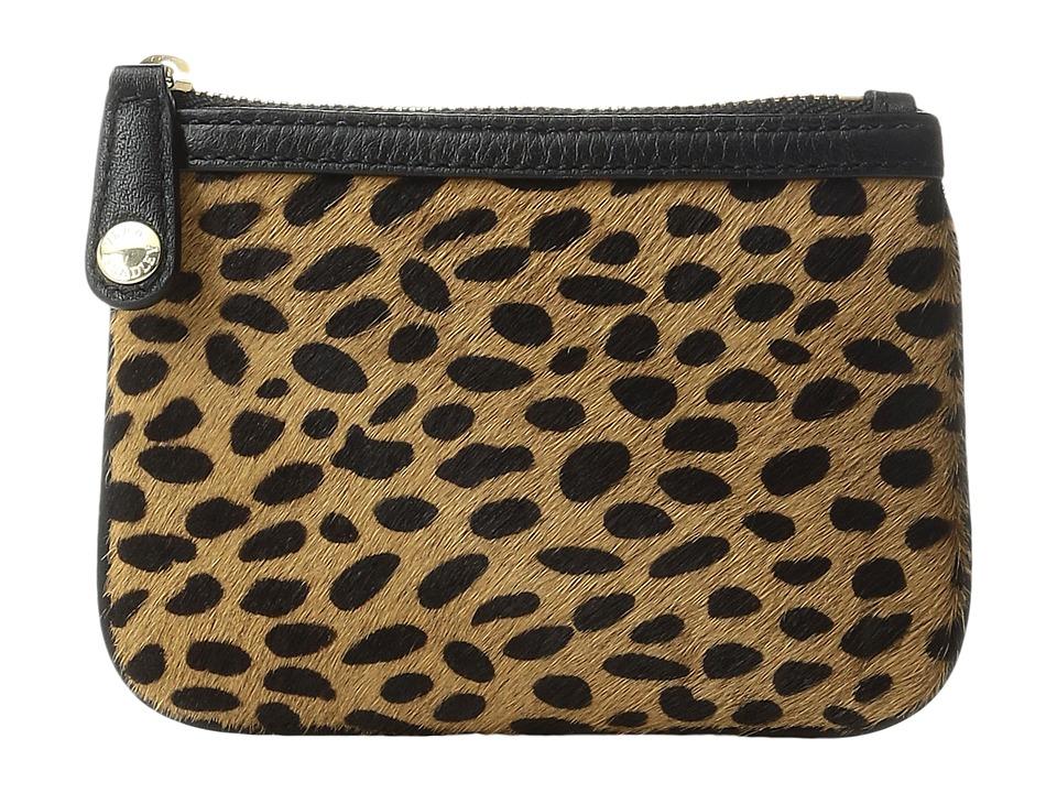 Vera Bradley - Callie Zip Pouch (Cheetah) Travel Pouch
