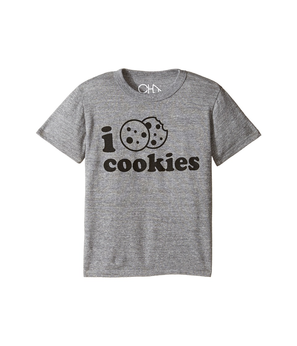 Chaser Kids - Tri-Blend Vintage Tee (Little Kids/Big Kids) (I Love Cookies) Boy's T Shirt