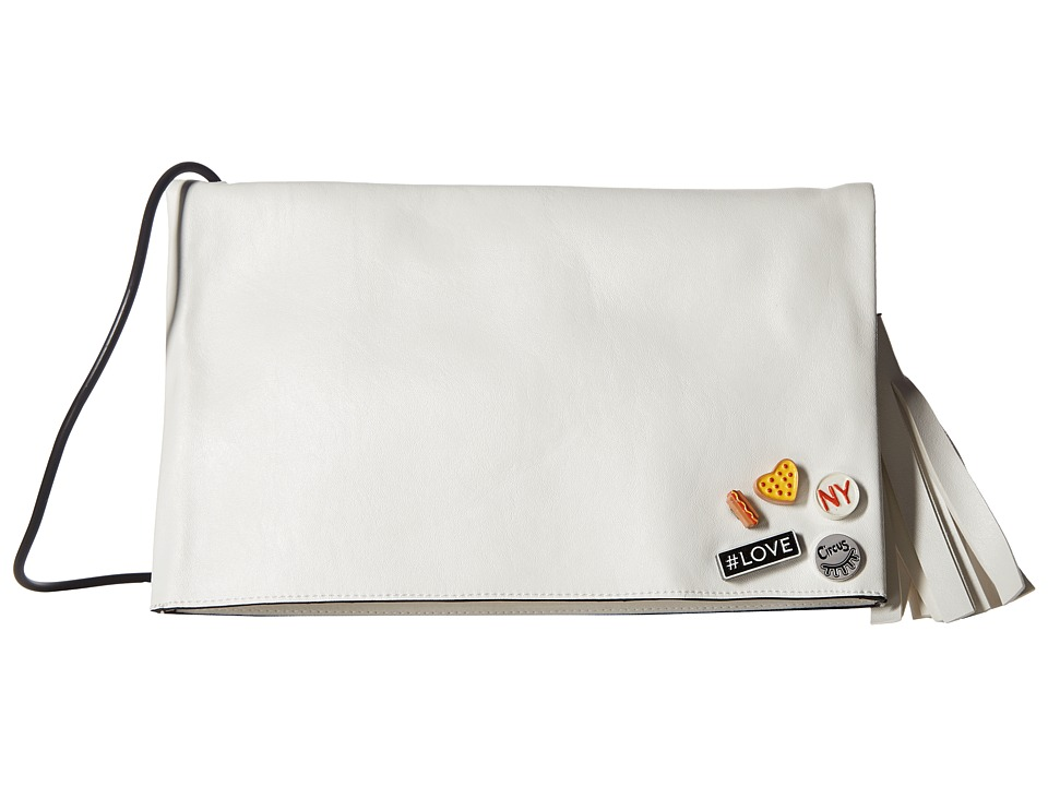 Circus by Sam Edelman - Nicole Flod-Over Flap (White/Pizza) Handbags